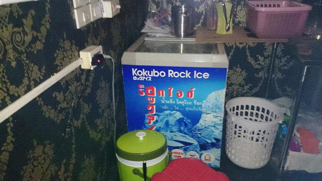 ガイアの夜明けで紹介されたコクボのロックアイスはバンコクに根付いています!(2014/11/14タイ・バンコク)
