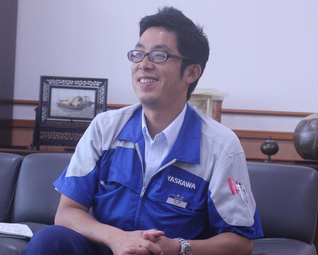 安川電機 近藤純氏