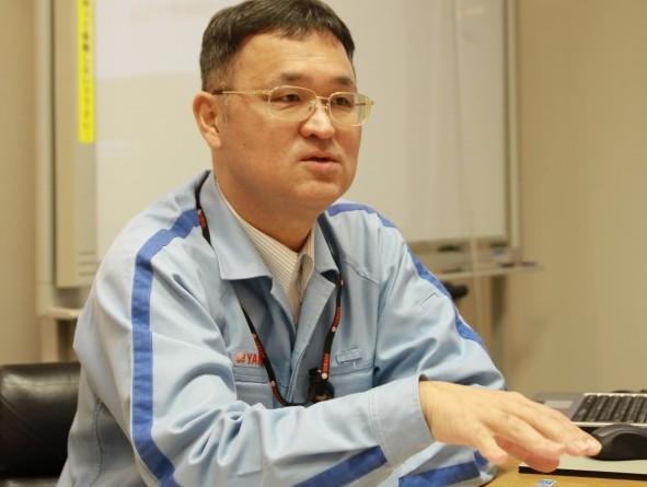 鈴木晴久さん 生産本部 生産戦略統括部 生産管理部長